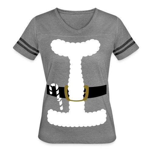 SANTA CLAUS SUIT - Men's Polo Shirt - Women's Vintage Sport T-Shirt
