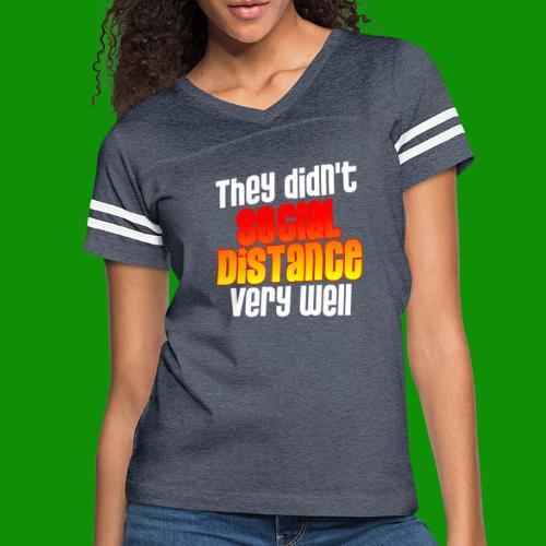 Social Distance Pregnancy - Women's Vintage Sport T-Shirt