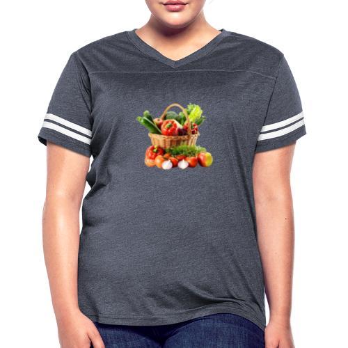 Vegetable transparent - Women's Vintage Sports T-Shirt