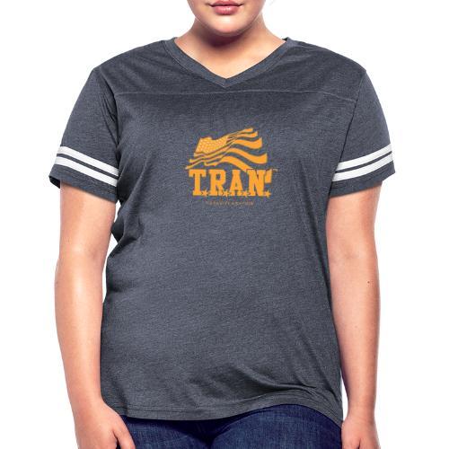 TRAN Gold Club - Women's Vintage Sport T-Shirt