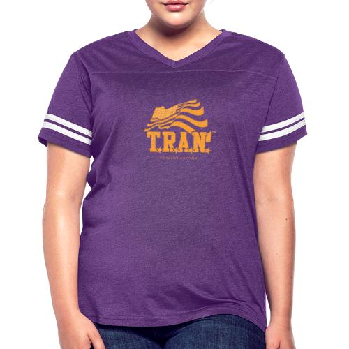 TRAN Gold Club - Women's Vintage Sport T-Shirt