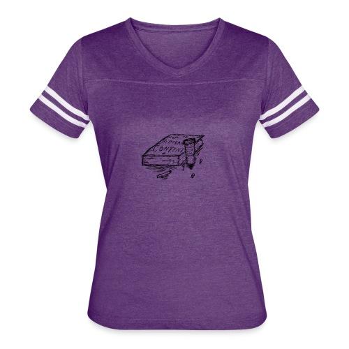 Content - Women's Vintage Sport T-Shirt