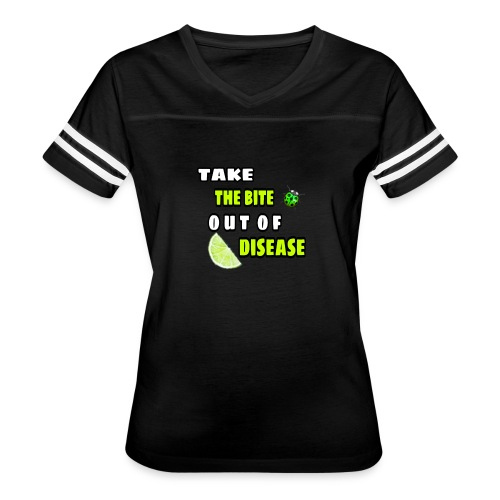 Take the bite out of Lyme's Disease - Women's Vintage Sport T-Shirt