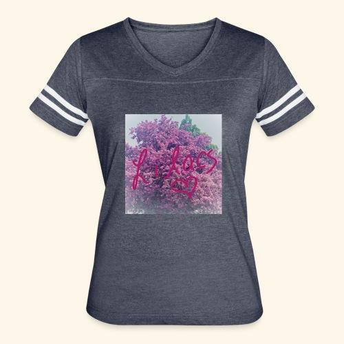 I love Lilacs - Women's Vintage Sport T-Shirt