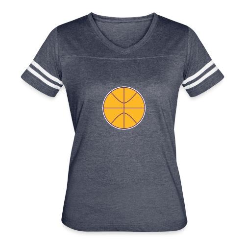 Basketball purple and gold - Women's Vintage Sport T-Shirt
