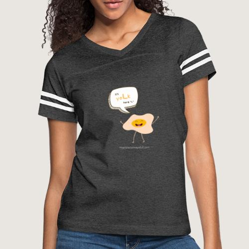 yoLk hard L - Women's Vintage Sport T-Shirt