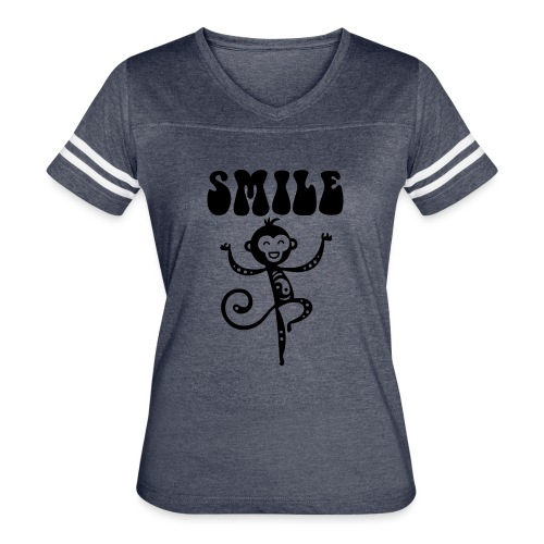 SMILE - Women's Vintage Sport T-Shirt