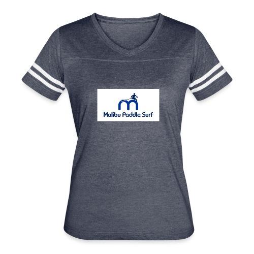 Malibu Paddle Surf Tshirt - Women's Vintage Sport T-Shirt