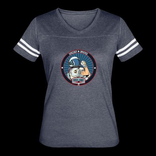 Space Cadet Can Do Badge - Women's Vintage Sport T-Shirt