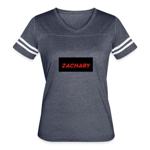 ZACHARY LOGO 9 - Women's Vintage Sport T-Shirt