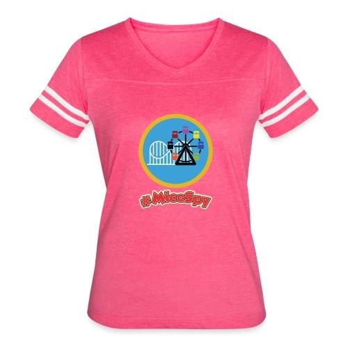 Paradise Pier Explorer Badge - Women's Vintage Sport T-Shirt