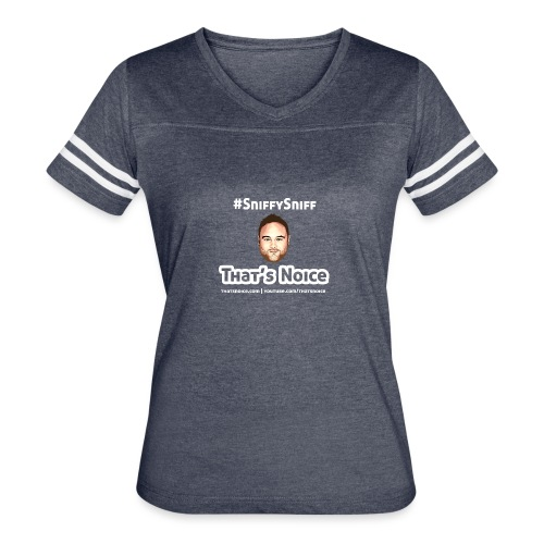 Sniffy Sniff Design - Women's Vintage Sport T-Shirt