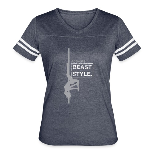 Activate: Beast Style - Women's Vintage Sport T-Shirt