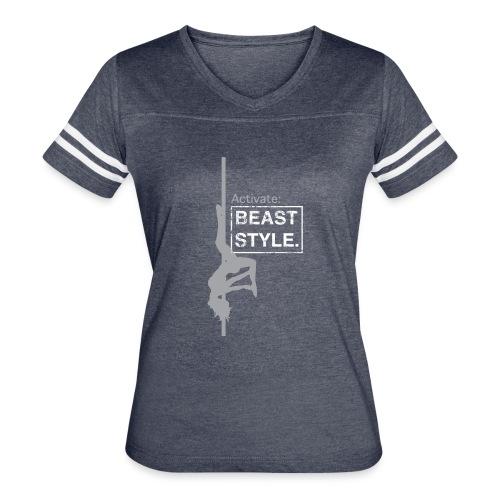 Activate: Beast Style - Women's Vintage Sport T-Shirt