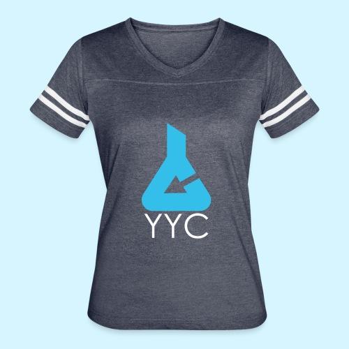 Media Lab Logo (white text) - Women's Vintage Sport T-Shirt