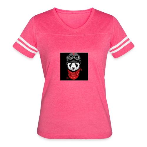 Panda - Women's Vintage Sport T-Shirt