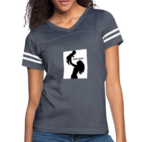 MOB-MOM - Women's Vintage Sport T-Shirt