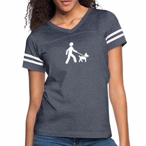 Walk the dog - Women's Vintage Sport T-Shirt