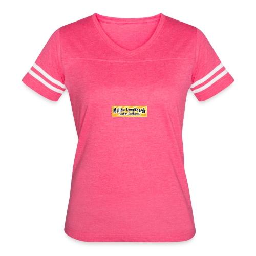 Malibu LongBoards Tshirts Hats Hoodies Amazing - Women's Vintage Sport T-Shirt