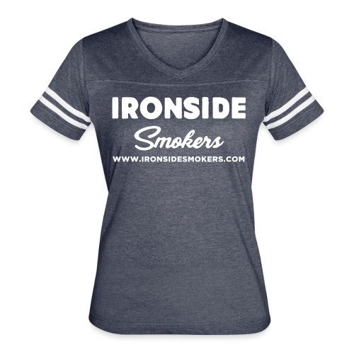 Classic Logo - White - Women's Vintage Sport T-Shirt