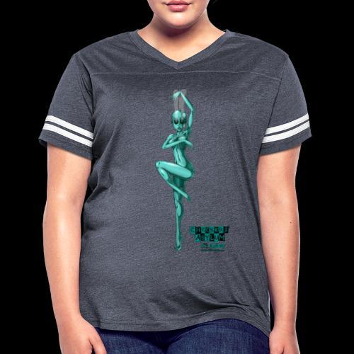 Checkers' Asylum - Mutino Victim #4 - Women's Vintage Sport T-Shirt