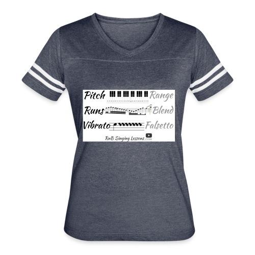 Singing Skills - Women's Vintage Sports T-Shirt