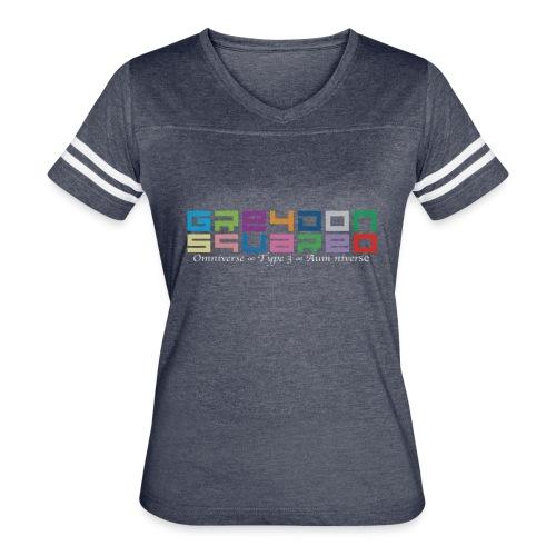 Greydon Square Colorful Tshirt Type 3 - Women's Vintage Sport T-Shirt