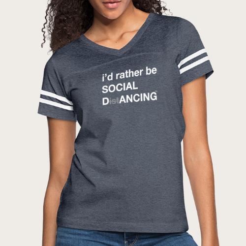 Social Dancing - Women's Vintage Sport T-Shirt