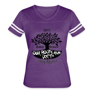 Baker Brown Family Reunion - Women's Vintage Sport T-Shirt
