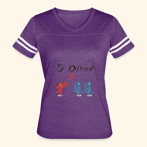 Be Different - Women's Vintage Sport T-Shirt