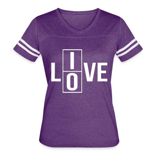 live love 2 - Women's Vintage Sport T-Shirt