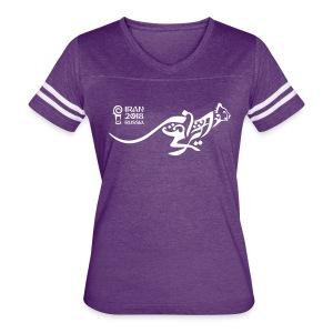 Running Cheetah - Women's Vintage Sport T-Shirt