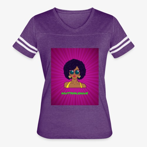 Fly Girl Purp - Women's Vintage Sport T-Shirt