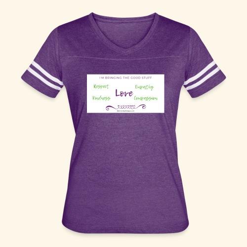BRINGING the Good Stuff - Women's Vintage Sport T-Shirt