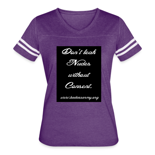 Leaked consent - Women's Vintage Sport T-Shirt