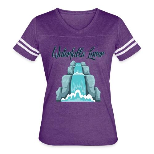 WaterFalls Lover - Women's Vintage Sport T-Shirt