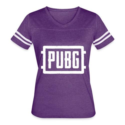 PUBG - Women's Vintage Sport T-Shirt