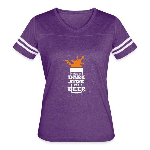 Beer, star wars, Cup - Women's Vintage Sport T-Shirt