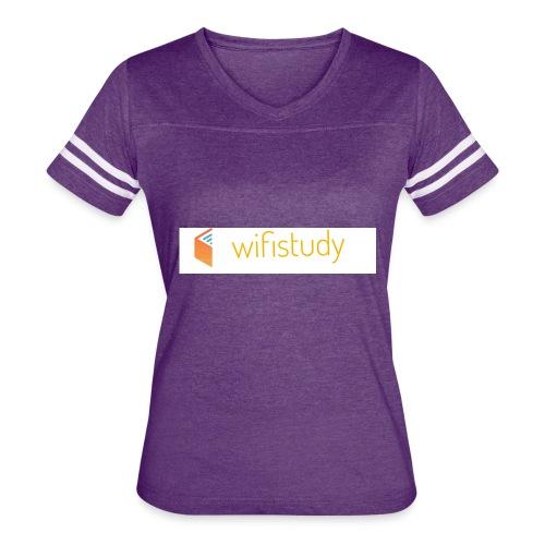 WiFi study - Women's Vintage Sport T-Shirt