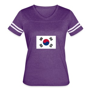 Flag of South Korea - Women's Vintage Sport T-Shirt