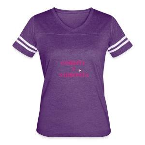 GORDITA Y SABROSITA - Women's Vintage Sport T-Shirt