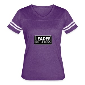 Leader - Women's Vintage Sport T-Shirt