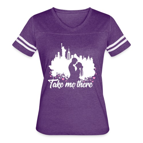 Take me to New York - Women's Vintage Sport T-Shirt