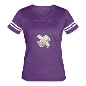 Money With Wings - Women's Vintage Sport T-Shirt