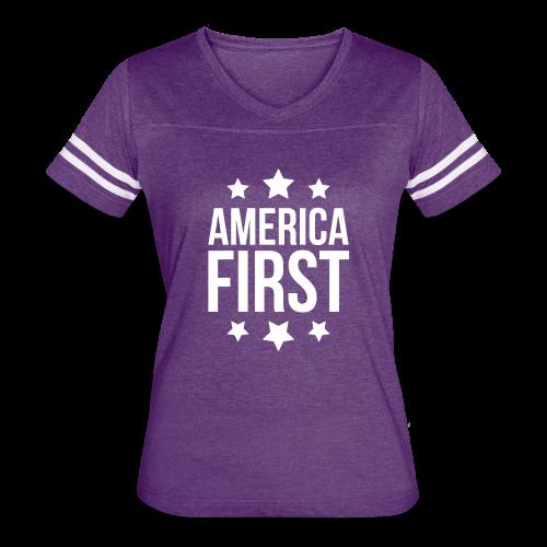 America First - Women's Vintage Sport T-Shirt
