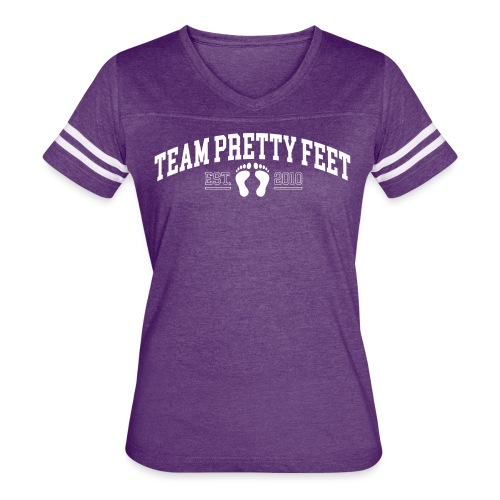 Team Pretty Feet™ Universi-TEE - Women's Vintage Sport T-Shirt
