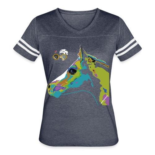 Spotted.Horse Appaloosa Colt Pop Art - Women's Vintage Sport T-Shirt