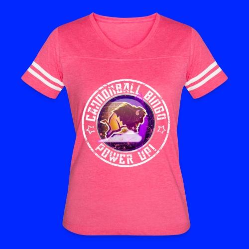 Vintage Stampede Power-Up Tee - Women's Vintage Sport T-Shirt
