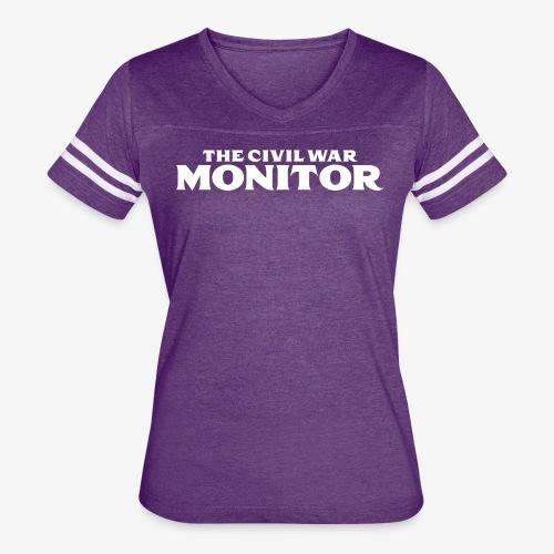 CWM LOGO WHITE - Women's Vintage Sport T-Shirt
