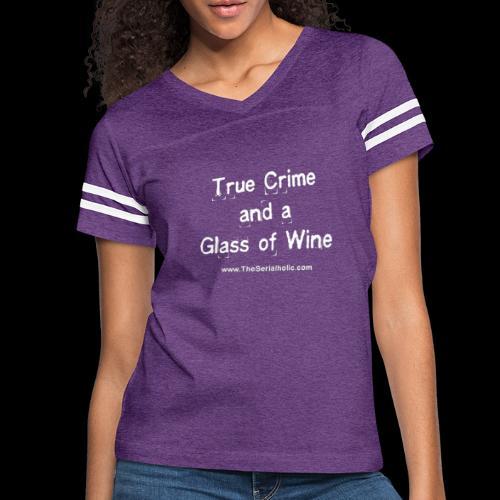 GlassOfWine - Women's Vintage Sports T-Shirt